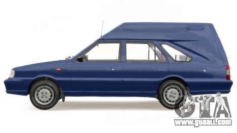 Daewoo-FSO Polonez Cargo Van Plus 1999 for GTA 4 side view