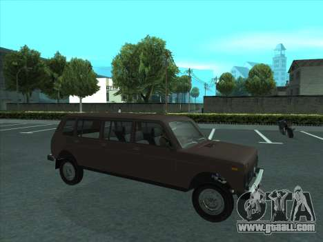 VAZ 2131 Samudera for GTA San Andreas side view