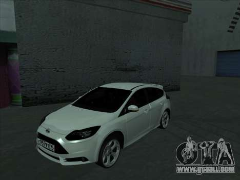 Ford Focus ST baleen for GTA San Andreas