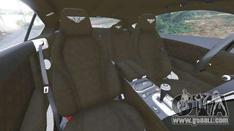 GTA 5 Bentley Continental GT 2012 v1.1 right side view