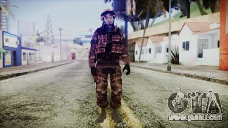 Chinese Army Desert Camo 2 for GTA San Andreas second screenshot