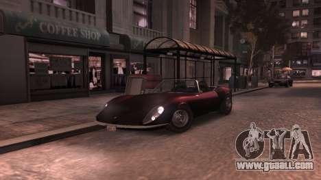 GTA V Stinger Classic for GTA 4 inner view