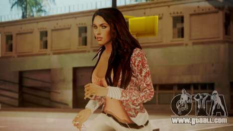 Megan Fox for GTA San Andreas