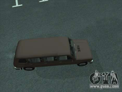 VAZ 2131 Samudera for GTA San Andreas back left view
