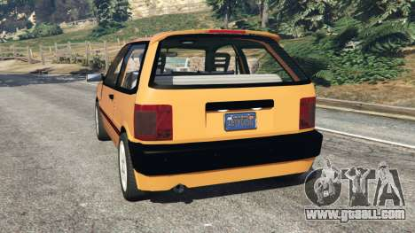 GTA 5 Fiat Tipo rear left side view
