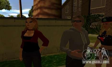 Womens Mega Pack by 7 Pack for GTA San Andreas sixth screenshot