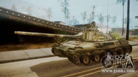 AMX 30 from Mercenaries 2 World in Flames for GTA San Andreas