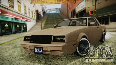 GTA 5 Willard Faction Custom Bobble Version for GTA San Andreas