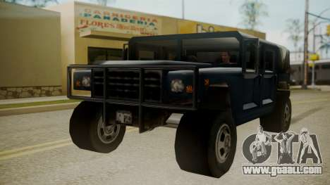 Patriot III for GTA San Andreas right view