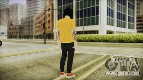 DLC Halloween GTA 5 Calabaza for GTA San Andreas third screenshot