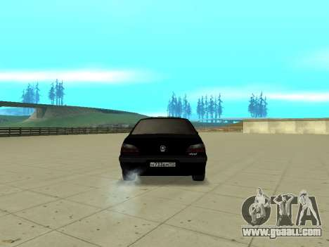 Peugeot 406 for GTA San Andreas left view
