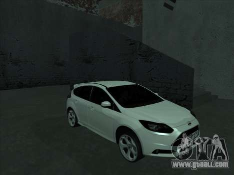 Ford Focus ST baleen for GTA San Andreas back view