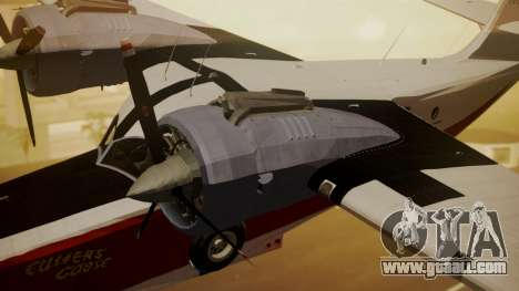 Grumman G-21 Goose NC327 Cutter Goose for GTA San Andreas right view