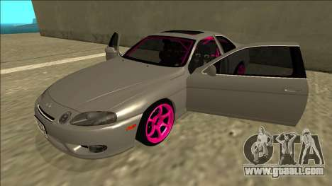 Lexus SC 300 Drift for GTA San Andreas side view