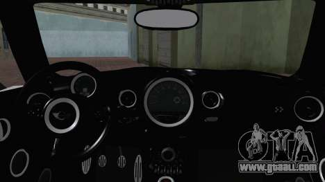Mini Cooper Clubman 2011 Itasha for GTA San Andreas side view