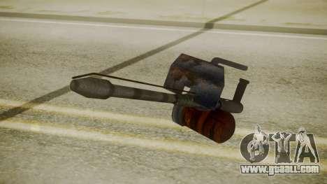 GTA 5 Flame Thrower for GTA San Andreas third screenshot