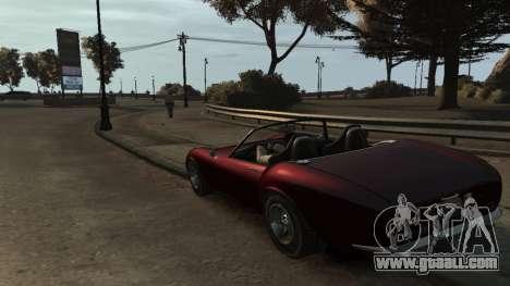 GTA V Stinger Classic for GTA 4 back left view
