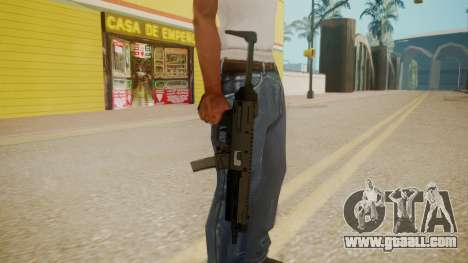 GTA 5 MP5 for GTA San Andreas third screenshot