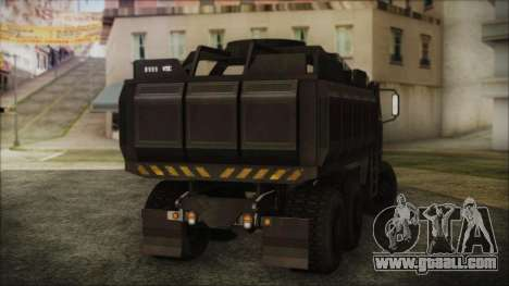Archer Gun Truck for GTA San Andreas left view