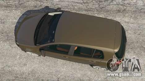 Volkswagen Golf Mk6 for GTA 5