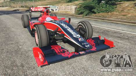 Virgin VR-01 [Timo Glock] v1.1 for GTA 5