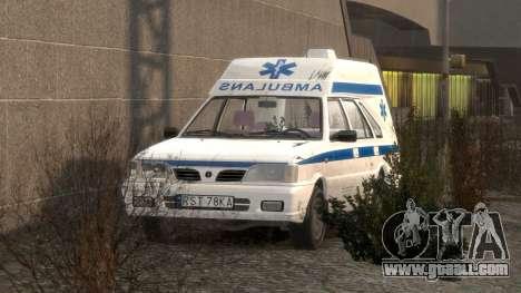 Daewoo-FSO Polonez Cargo Ambulance 1999 for GTA 4 interior
