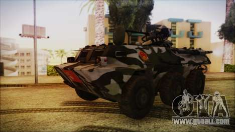 Norinco Type 92 from Mercenaries 2 for GTA San Andreas