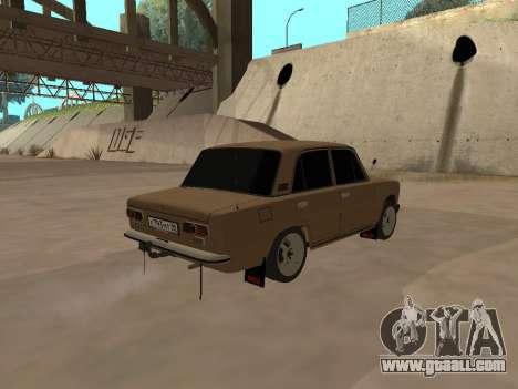 Vaz 2101 V1 for GTA San Andreas back left view