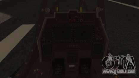 AH-99 Blackfoot for GTA San Andreas right view