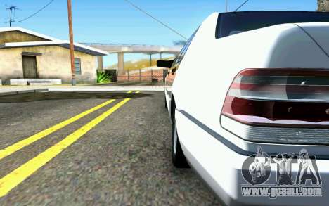 Mercedes-Benz W140 for GTA San Andreas back left view