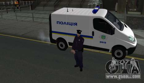 The National Police Of Ukraine for GTA San Andreas third screenshot