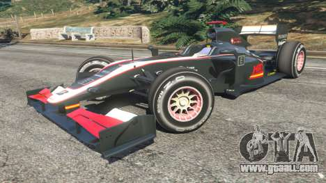 GTA 5 Hispania F110 (HRT F110) v1.1 right side view