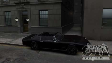 Classic Muscle Phoenix IV for GTA 4 back view
