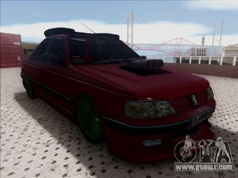 Peugeot Pars Full Sport for GTA San Andreas