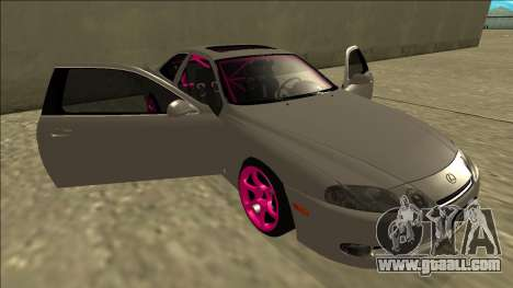 Lexus SC 300 Drift for GTA San Andreas bottom view