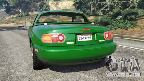 Mazda Miata MX-5 for GTA 5