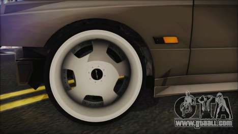 BMW M3 E30 Camber for GTA San Andreas back left view