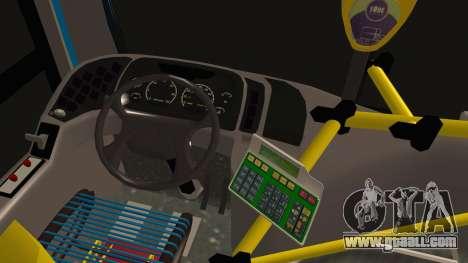 Mercedes-Benz OH1315LSB Metalpar Tronador for GTA San Andreas back left view
