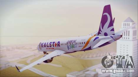 E-195 KalStar Aviation for GTA San Andreas left view