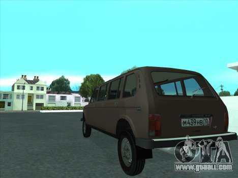VAZ 2131 Samudera for GTA San Andreas right view