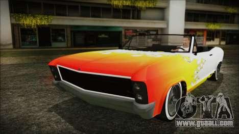 GTA 5 Albany Buccaneer Custom for GTA San Andreas side view