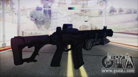 SOWSAR-17 Type G Assault Rifle with Grenade for GTA San Andreas second screenshot