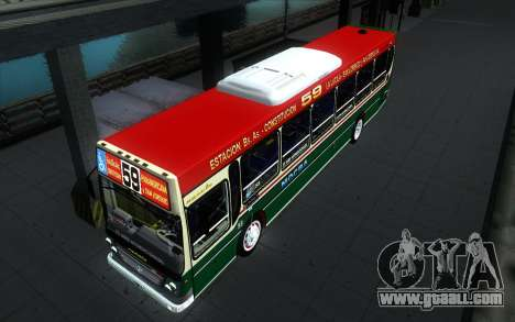 Ugarte Europeo MB OH1718L-SB Linea 59 for GTA San Andreas back view