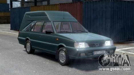 Daewoo-FSO Polonez Cargo Van Plus 1999 for GTA 4