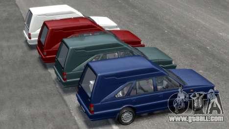 Daewoo-FSO Polonez Cargo Van Plus 1999 for GTA 4 wheels