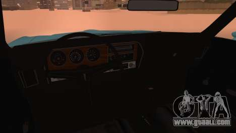 Pontiac Lemans Hardtop Coupe 1971 for GTA San Andreas right view