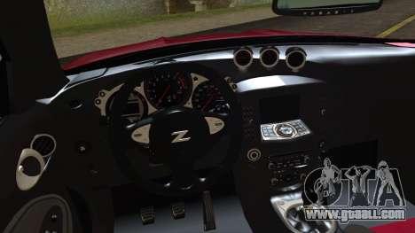 Nissan 370Z Nismo 2010 Angel Beats Itasha for GTA San Andreas right view