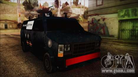 Duality Van - Furgoneta Duality for GTA San Andreas