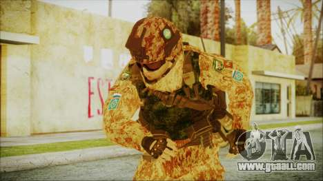 MW2 Russian Airborne Troop Desert Camo v1 for GTA San Andreas