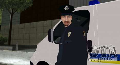The National Police Of Ukraine for GTA San Andreas